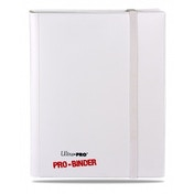 Ultra Pro Pro Binder White on White