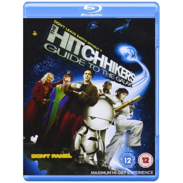 The Hitchhikers Guide To The Galaxy Blu-ray