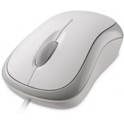 Microsoft Basic Optical Mouse - White