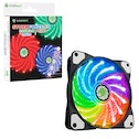 Game Max Storm Force 120mm 1300RPM 16.8 Million Colours RGB LED Ring Fan