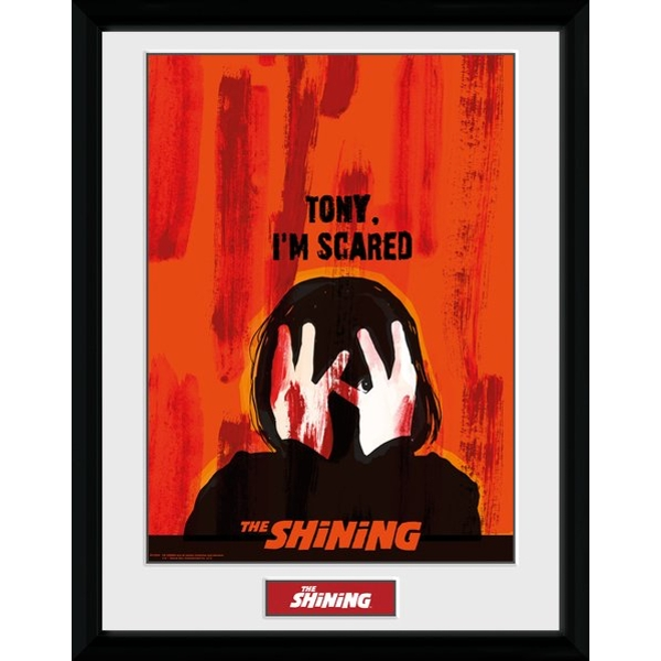 The Shining Scared Framed Collector Print