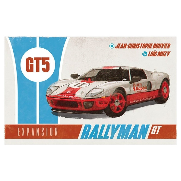 Rallyman GT - GT5 Expansion Board Game