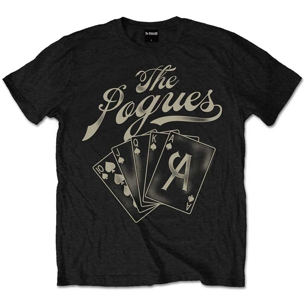 The Pogues - Ace Unisex Small T-Shirt - Black