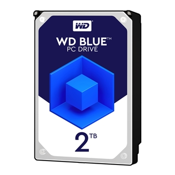 Image of Western Digital Blue WD20EZAZ 2TB 3.5 inch 5400RPM 256MB Cache SATA III Internal Hard Drive