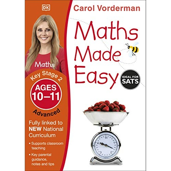 Maths Made Easy Ages 10-11 Key Stage 2 Advanced by Carol Vorderman (Paperback, 2014)