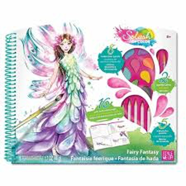 Style Me Up - Splash Of Color Fairy Fantasy Craft Kit