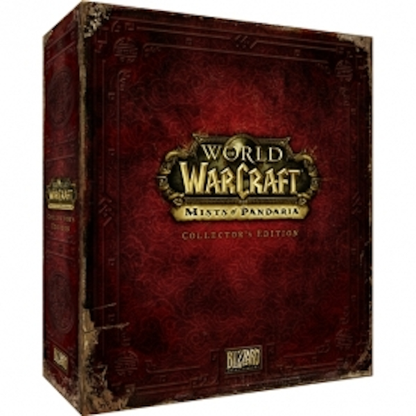World Of Warcraft Mists Of Pandaria Collector's Edition Game PC