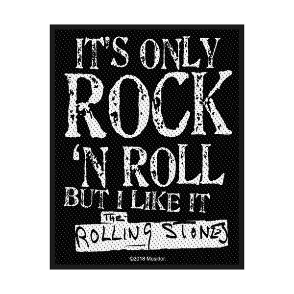 The Rolling Stones - It's Only Rock N' Roll Standard Patch