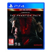 Metal Gear Solid V The Phantom Pain Day One Edition PS4 Game