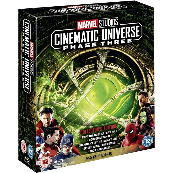 Marvel Studios Cinematic Universe: Phase Three - Part One Blu-Ray