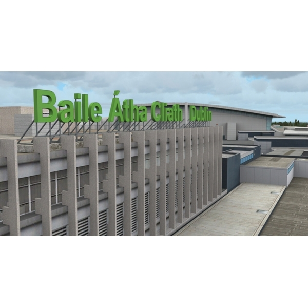 Mega Airport Dublin (For FSX) PC Game - Image 2