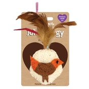 Rosewood Jolly Moggy Feather Bird Cat Toy