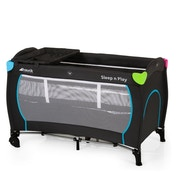 Hauck Sleep 'n' Play Center Travel Cot Multicolour Black