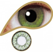 Coral Green 1 Day Coloured Contact Lenses (MesmerEyez Illusionz)