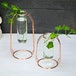 Rose Gold Centrepiece Flower Vases - Set of 2 | M&W - Image 2