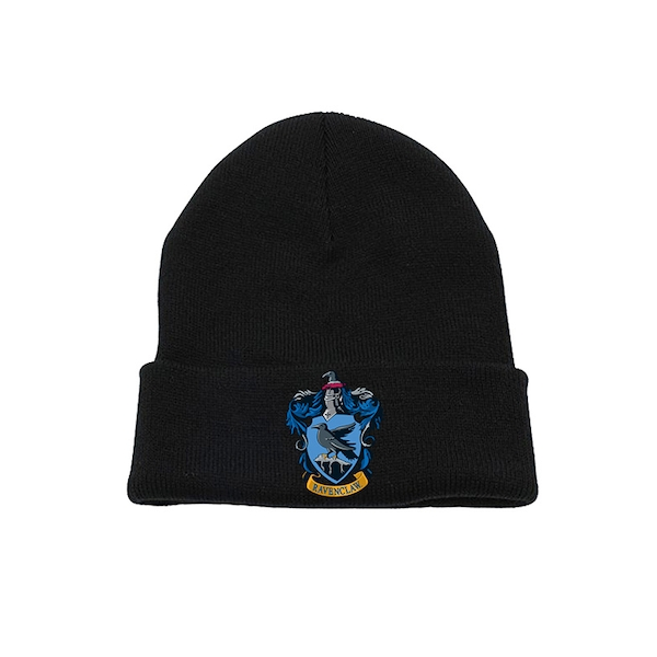 Harry Potter - Ravenclaw Crest Beanie - Black
