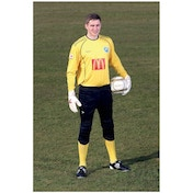 Precision Schmeichel Goalkeeping Shirt 26-28 inch Yellow