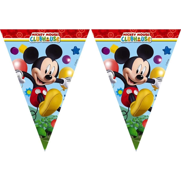 Mickey Mouse Club House Party Banner