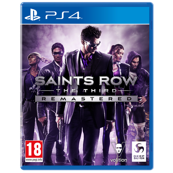 Saints Row The Third Remastered PS4 Game