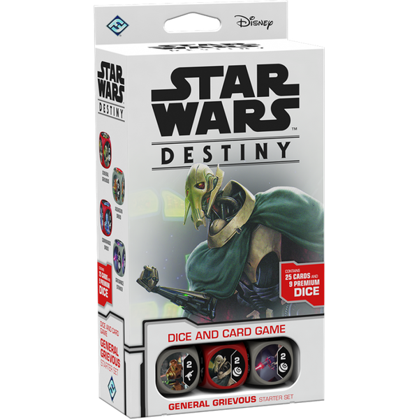 Star Wars Destiny: General Grievous Starter Set [Damaged]