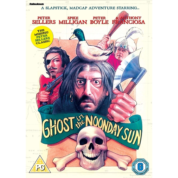 Ghost In The Noonday Sun DVD