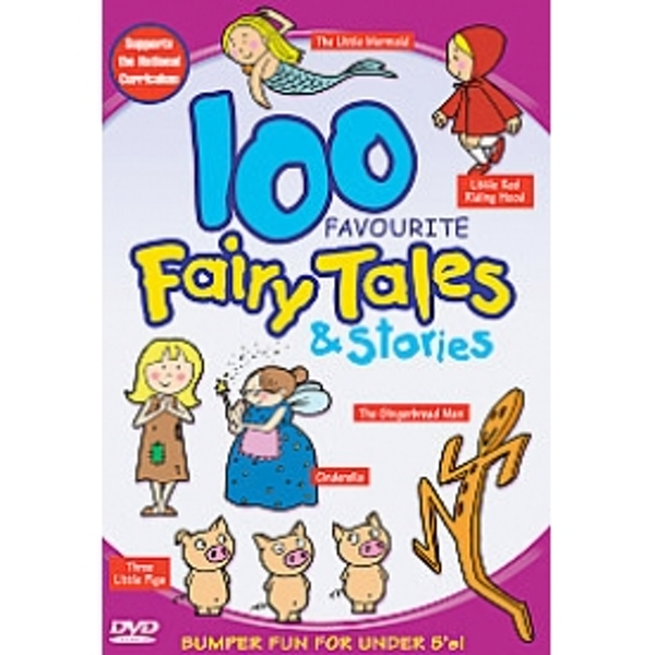 100 Favourite Fairy Tales And Stories DVD