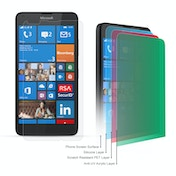 YouSave Accessories Microsoft Lumia 640 Screen Protectors X 5 - Clear