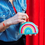 Sass & Belle Chasing Rainbows Shaped Coin Purse