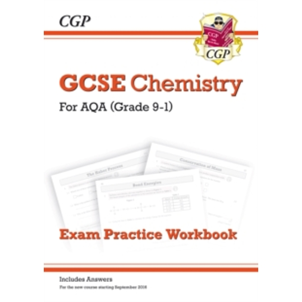 New Grade 9-1 GCSE Chemistry: AQA Exam Practice Workbook (with Answers) by CGP Books (Paperback, 2016)