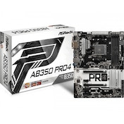 Asrock AB350 Pro4 AMD B350 Socket AM4 ATX