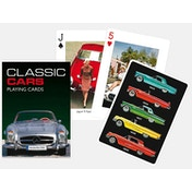 Classic Cars Collectors Playing Cards