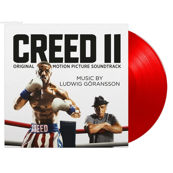 Ludwig Göransson - Creed II (Original Motion Picture Soundtrack) Limited Edition Red Vinyl