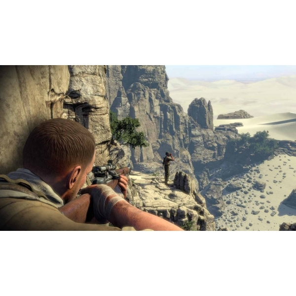 Sniper Elite III 3 with Hunt the Grey Wolf DLC Xbox 360 Game - Image 2