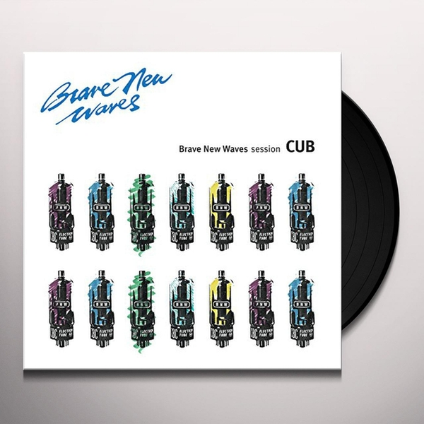Cub ‎– Brave New Waves Session Vinyl