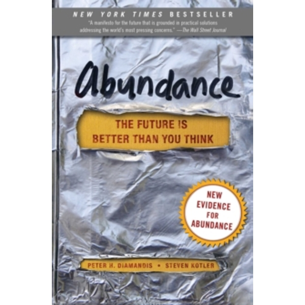 Abundance : The Future Is Better Than You Think