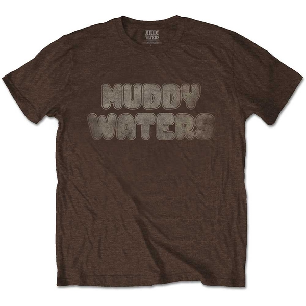 Muddy Waters - Electric Mud Vintage Men's Small T-Shirt - Brown