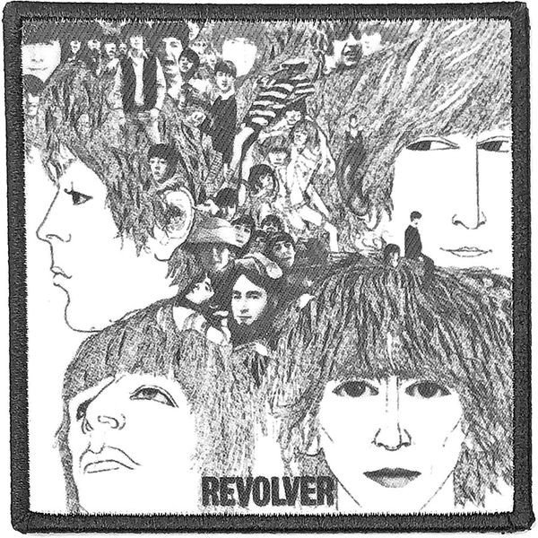 The Beatles - Revolver Album Cover Standard Patch