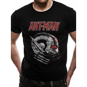 Antman And The Wasp - Ant Profile Men's X-Large T-Shirt - Black