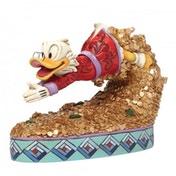 Scrooge McDuck Treasure Dive (Disney Traditions) Figurine