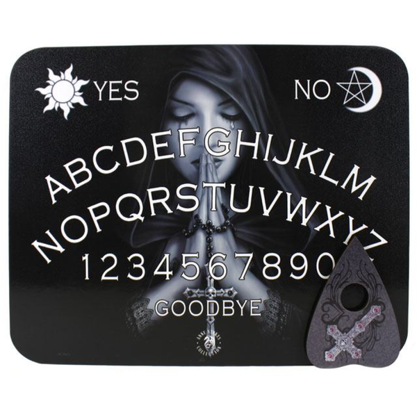 Gothic Prayer Spirit Board (Pack of 4) By Anne Stokes [Damaged Packaging]