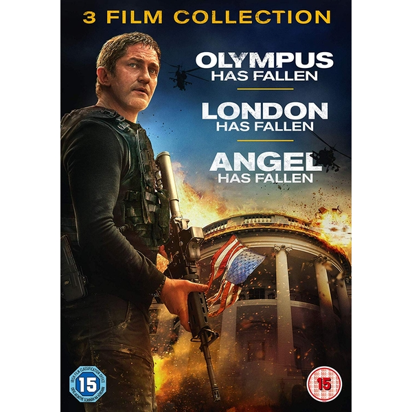 3 Film Collection - Olympus/London/Angel Has Fallen DVD