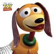 Toy Story - Slinky Dog Canvas