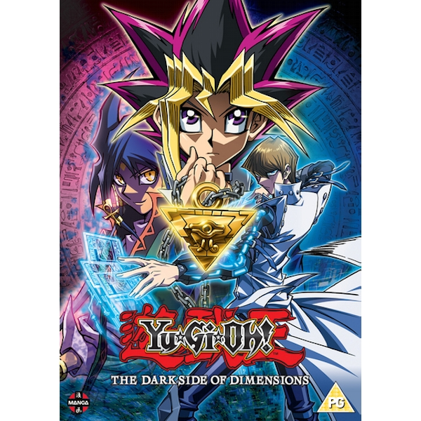 Yu-Gi-Oh! The Movie: Dark Side of Dimensions DVD