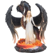 Born of the Flames Dragon Figurine