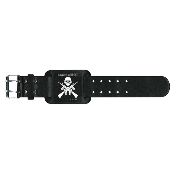 Iron Maiden - A Matter Of Life And Death Leather Wrist Strap