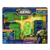 Ex-Display The Avengers Marvel Infinity War Nerf Hulk Assembler Gear Used - Like New