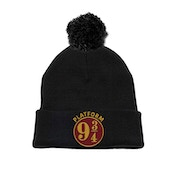 Harry Potter - 9 And 3 Quarters Men's  Pom Beanie - Black