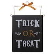 Trick Or Treat Slate Sign by Heaven Sends