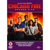 Chicago Fire: Season Five DVD