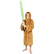 Jedi Star Wars Fleece Jedi Robe Tan - Kids Medium 7-9 years